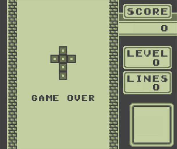 Tetris Game Over